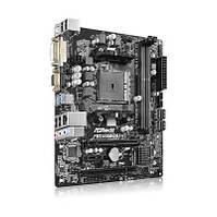 Материнская плата ASRock FM2A68M-DG3 + (microATX; Socket FM2 +; AMD A68H; Встроенное видео: интегрированное в