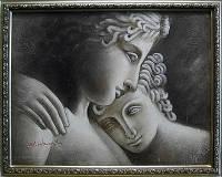 """Картина """"Слияние двух сердец"""""""