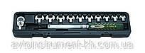 Ключ динамометрический со сменными насадками рожкового типа 13 пр. (10-60 Нм) Force 64714 F