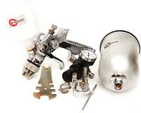 Краскопульт HVLP STEEL PROF KIT 1,7 мм 1,4 мм INTERTOOL PT-1505, фото 1