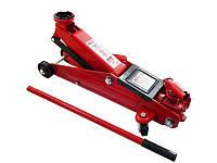 Домкрат подкатной 3 т с вращающейся ручкой 360 градусов (h min 130мм, h max 410мм)