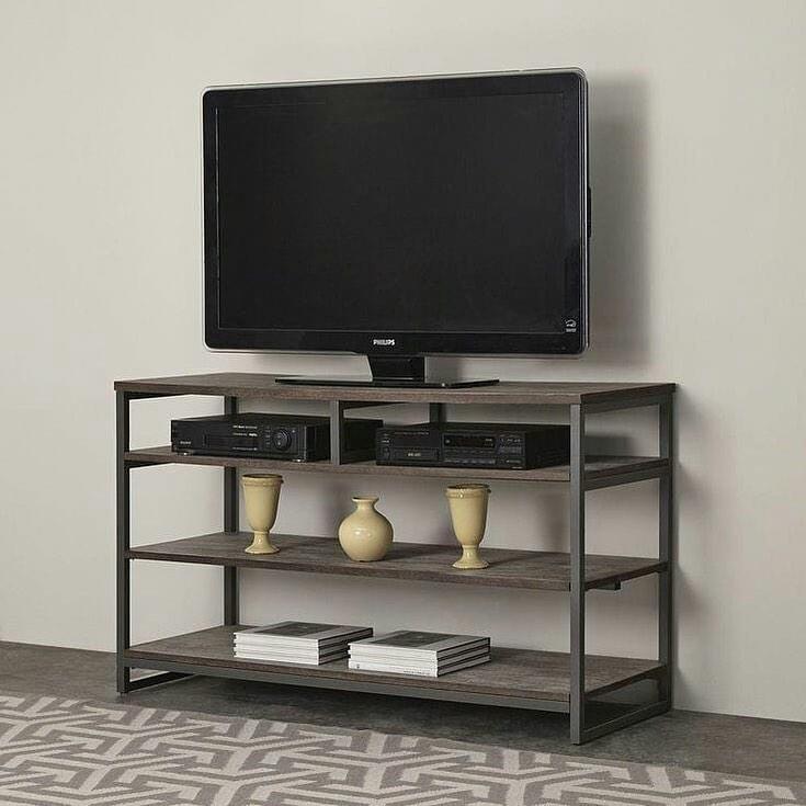 Стіл під телевізор в стилі лофт