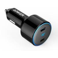 Авто зарядка ANKER PowerDrive+ III Duo - 30W PD + 18W USB-C (Черное)