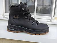 Зимние мужские кожаные ботинки , sw размеры 40-45