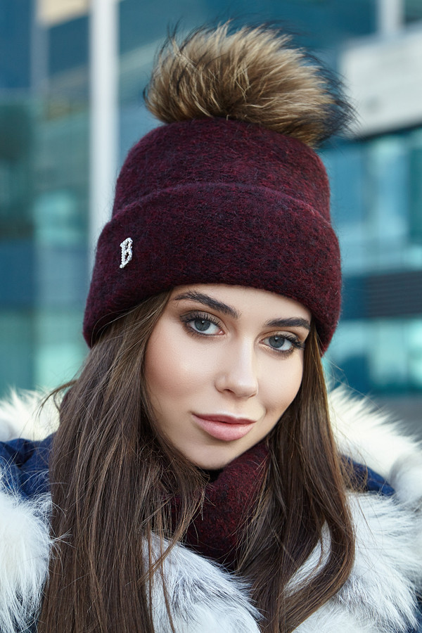 Комплект «Лісбет» (шапка і шарф-хомут)