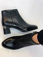 Женские стильные осенние ботинки. На среднем каблуке. Натуральная кожа. Люкс качество. Erisses. Р. 36.37.38.40, фото 10