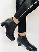 Женские стильные осенние ботинки. На среднем каблуке. Натуральная кожа. Люкс качество. Erisses. Р. 36.37.38.40, фото 7