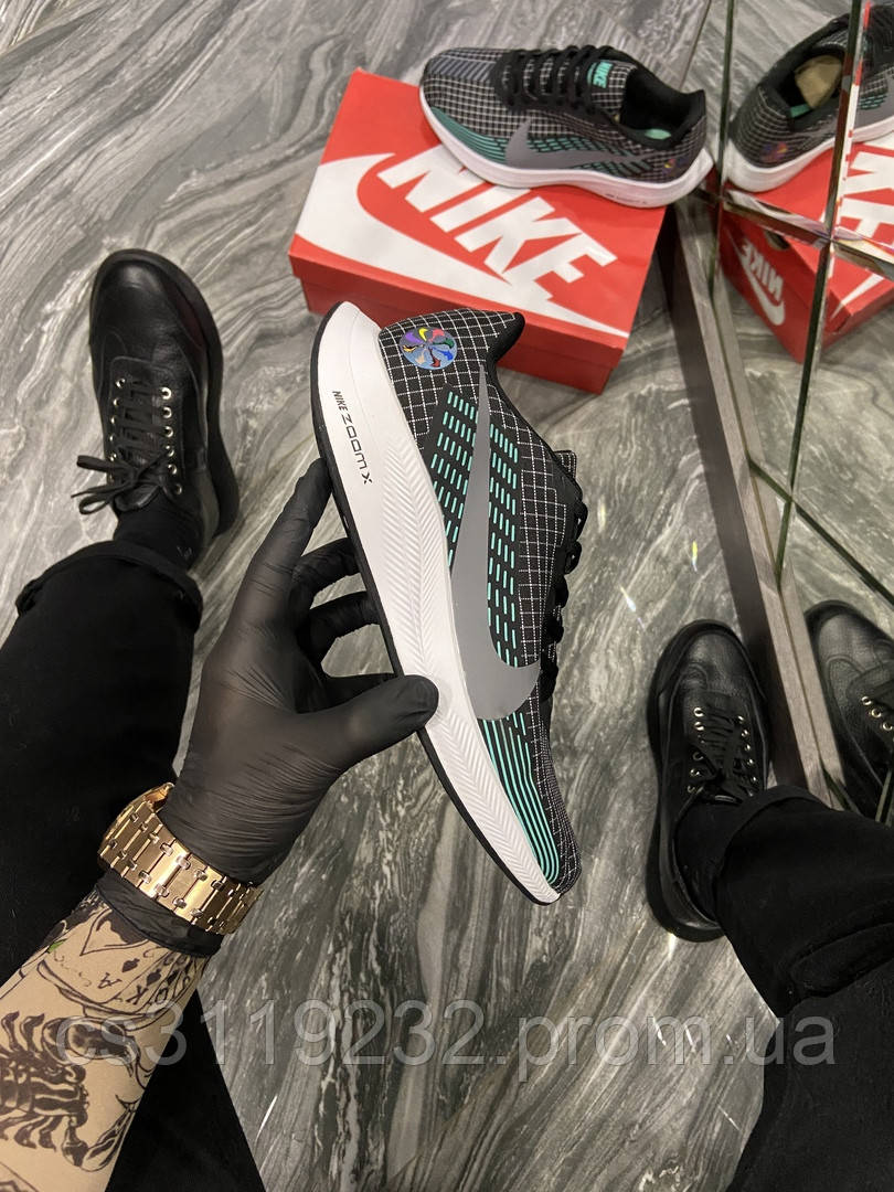 Мужские кроссовки Nike Zoom Wildhorse 4 (Черный) Найк Зум