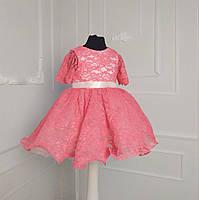 Красивое ажурное платье на годик