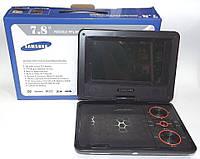 "Портативный DVD& ЖК телевизор Samsung DA-738, экран 7,8"" дюйма, портативные телевизоры"