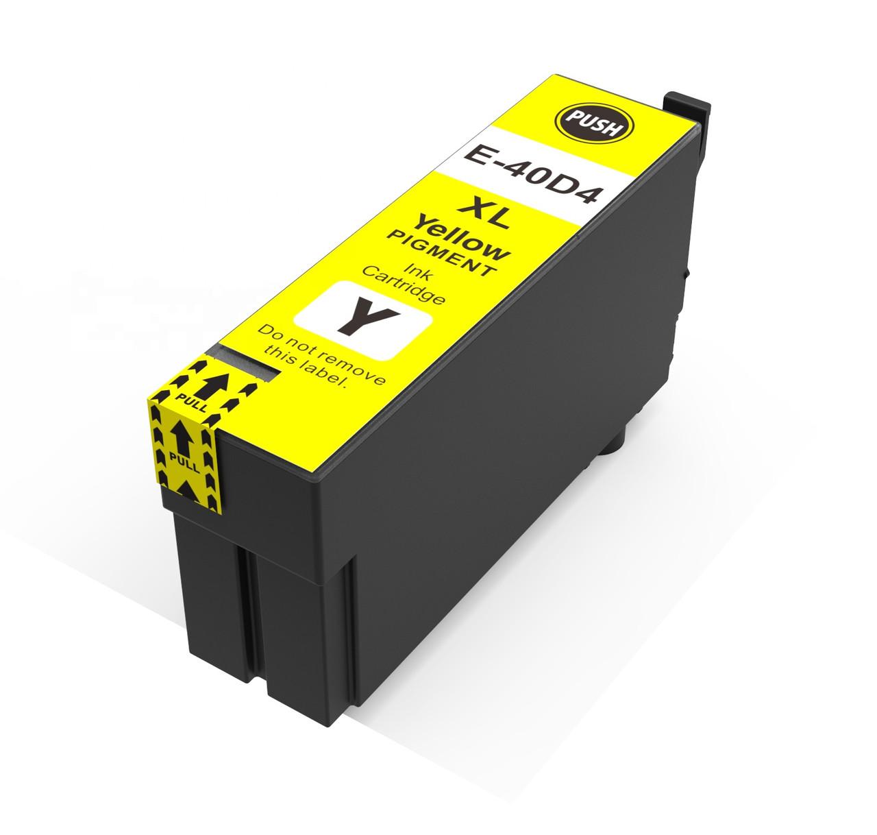 Картридж Ocbestjet T40D4 для Epson SC-T3100, SC-T3100N, SC-T5100, SC-T5100N, Yellow, 50 мл