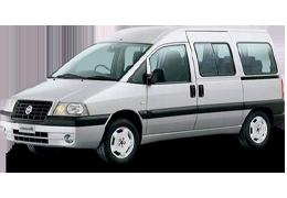 Дефлекторы на боковые стекла (Ветровики) для Fiat (Фиат) Scudo I 1995-2007