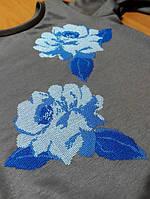 Машинная вышивка на крое, фото 1