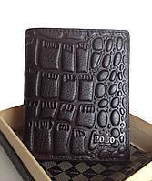 Мужское портмоне PaOLO Ardens (8151-2) черный 11x9см