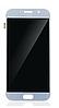 Дисплей (экран) для Samsung A720F Galaxy A7 (2017) + тачскрин, голубой, Blue Mist,  TFT, копия