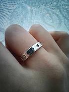 Кольцо серебристое, фото 3