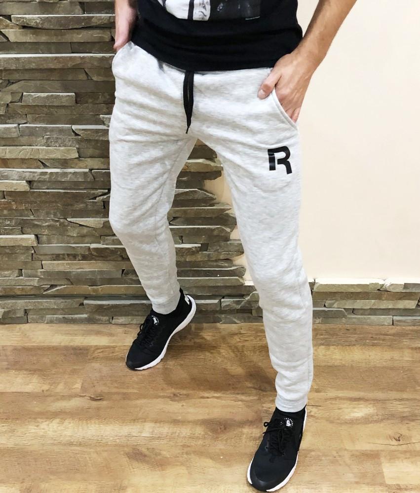 Спортивні штани (фліс) Reebok сірі