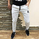 Спортивні штани (фліс) Reebok сірі, фото 4