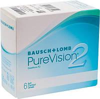 Контактные линзы Bausch&Lomb PureVision2 (BC=8.6, DIA=14.0) 6 линз