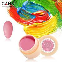 Гель-краска Canni №525 ( пастельная светло-малиновая) 5 мл
