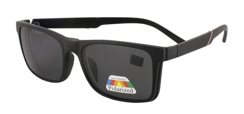 Очки  с солнцезащитной накладкой polarized (-1.0)