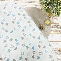 Хлопковая простынка на резинке в кроватку Lukoshkino ® Размер 120*60 см.  PRK-1