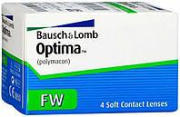 Контактные линзы Bausch&Lomb OPTIMA FW (BC=8.7, DIA=14.0) 4 линзы