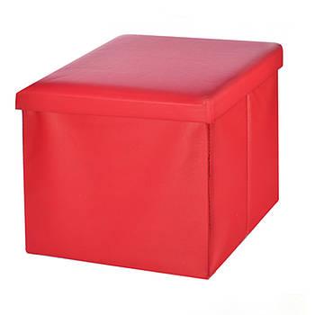 Ящик пуф для зберігання STENSON 30 х 30 х 30 см (R88090)