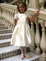 Белое платье на девочку на прокат