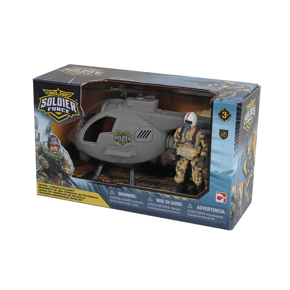 Ігровий набір Солдати Патрульний гелікоптер