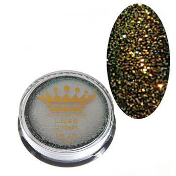Блестки для дизайна ногтей Master Professional LUXE GLITTERS 2 гр (MP-414) №02