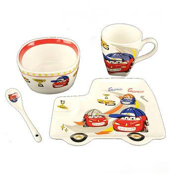 Набор детской посуды Baby Shower 4 предмета (402 CS) Керамика