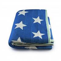 Простынь электрическая с сумкой Electric Blanket 150х120см (звезда-белая, Синяя) [7418]