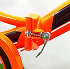 Складной велосипед Azimut 20 2009-1 с фарой бело-красный, фото 4