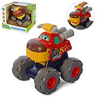 Машина 3151A інерц., корпус-тварина, рухливі деталі, кор., 17,5-15,5-15,5 см.