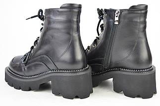 Ботинки Lottini 25205 кожаные цигейка, фото 2