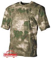 Футболка MFH US T-Shirt A-TAcs FG 00104E