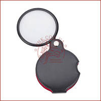 Линза карманная в чехле диаметр 60мм 5.1x стекло (XX-1051)