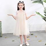 Нарядное красивое детское платье на выпускной праздник утренник фотосессию, фото 4