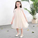 Нарядное красивое детское платье на выпускной праздник утренник фотосессию, фото 3