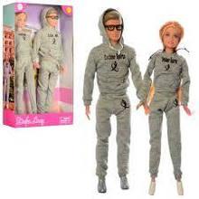 Кукла Defa Lucy с Кеном в спортивных костюмах