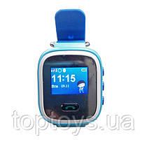 Дитячі смарт-годинник GoGPS ME К11 Синій (К11СН)