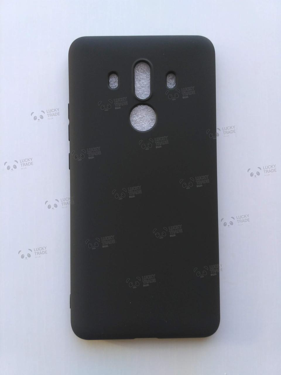 Силиконовый чехол Huawei Mate 10 Pro Черный