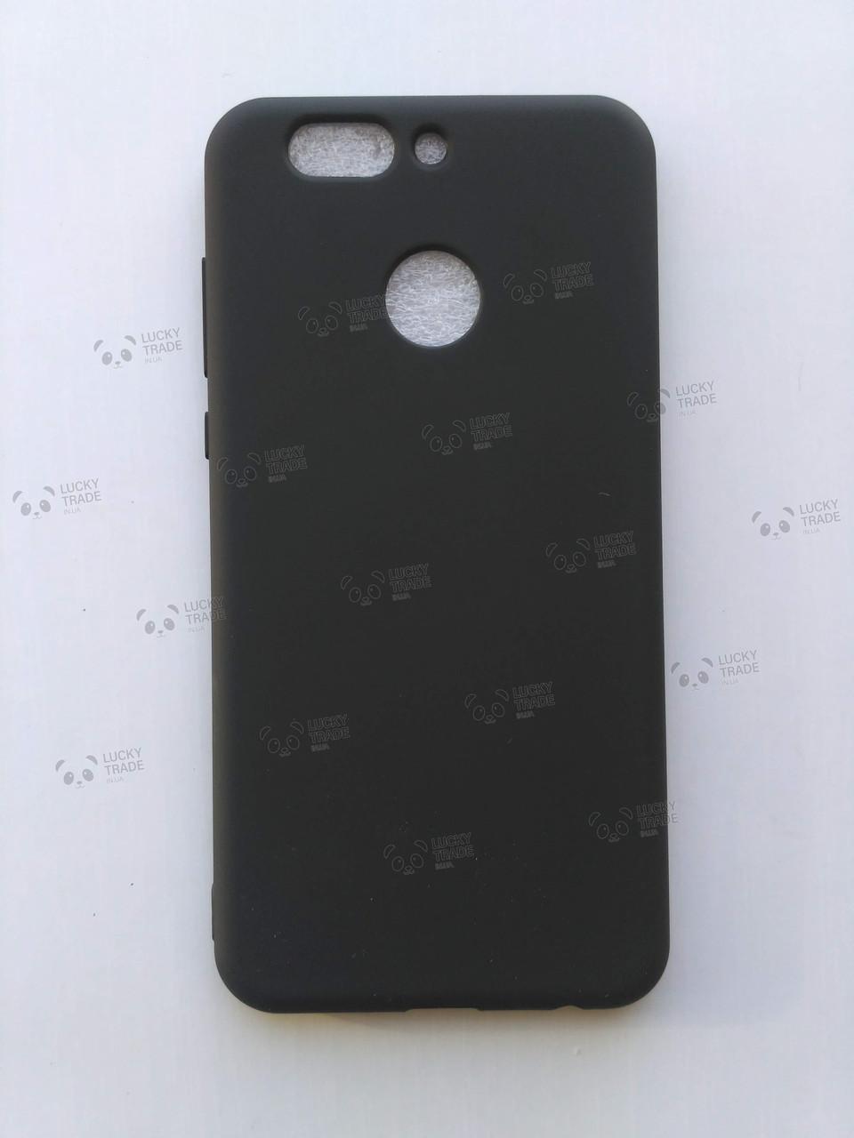 Силиконовый чехол Huawei Nova 2 Plus бампер накладка Черный
