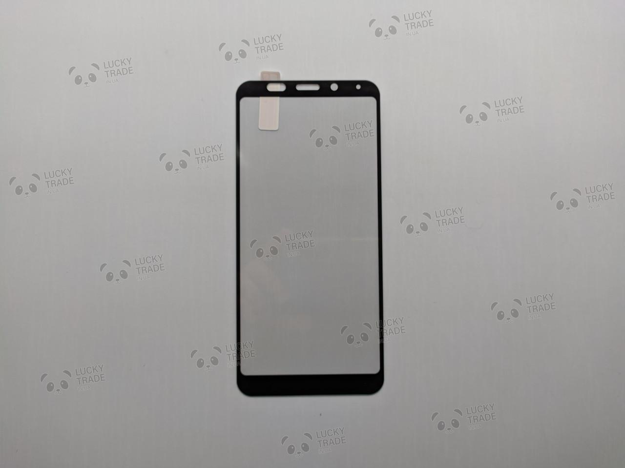 Защитное стекло Full Cover Xiaomi Redmi 5 Plus бампер накладка Черный [1735]