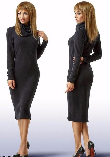 Платье женское из ангоры