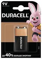Батарейка Duracell 9v / mn1604 kpn1*10 1 штука (066267)