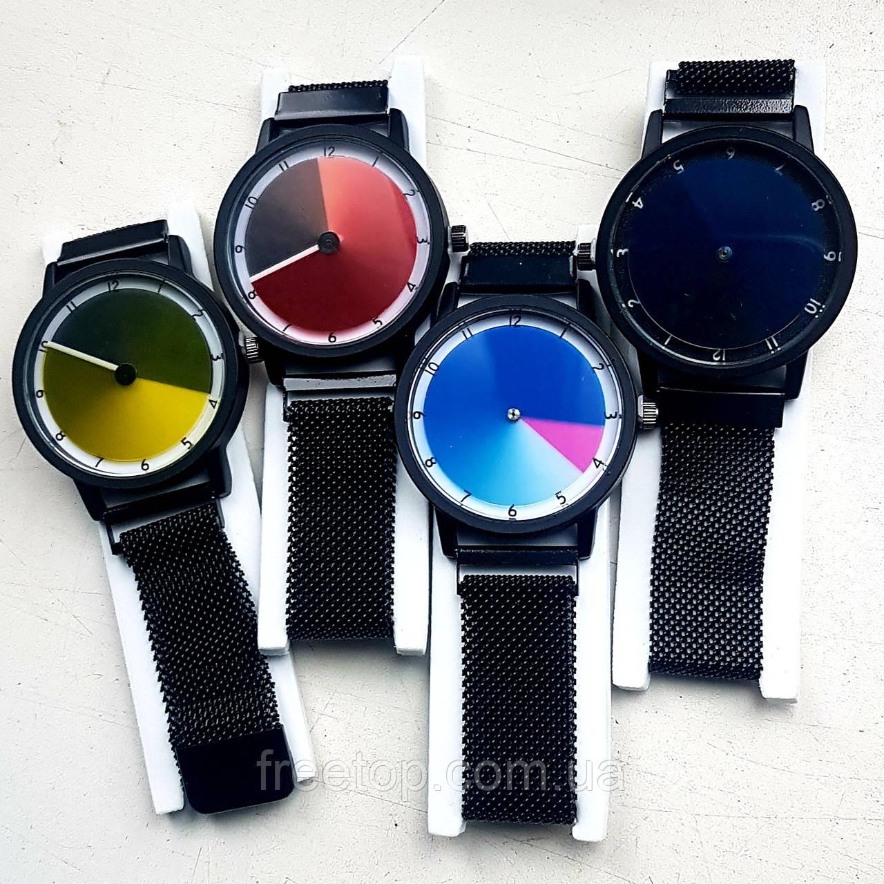 Жіночі наручні годинники в стилі Rainbow Watch — годинник міняють колір