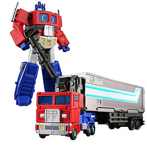 Робот-трансформер Оптимус Прайм с прицепом и аскессуарами  - Optimus Prime, Generations