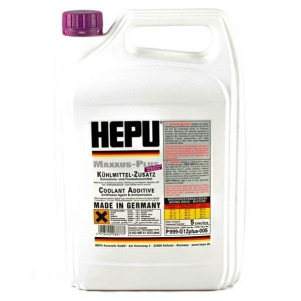 Антифриз концентрат Hepu Antifreeze Фиолетовый G12+ 5л (P999-12P-005)